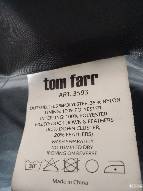 Пуховик Tom Farr, S (чёрный)