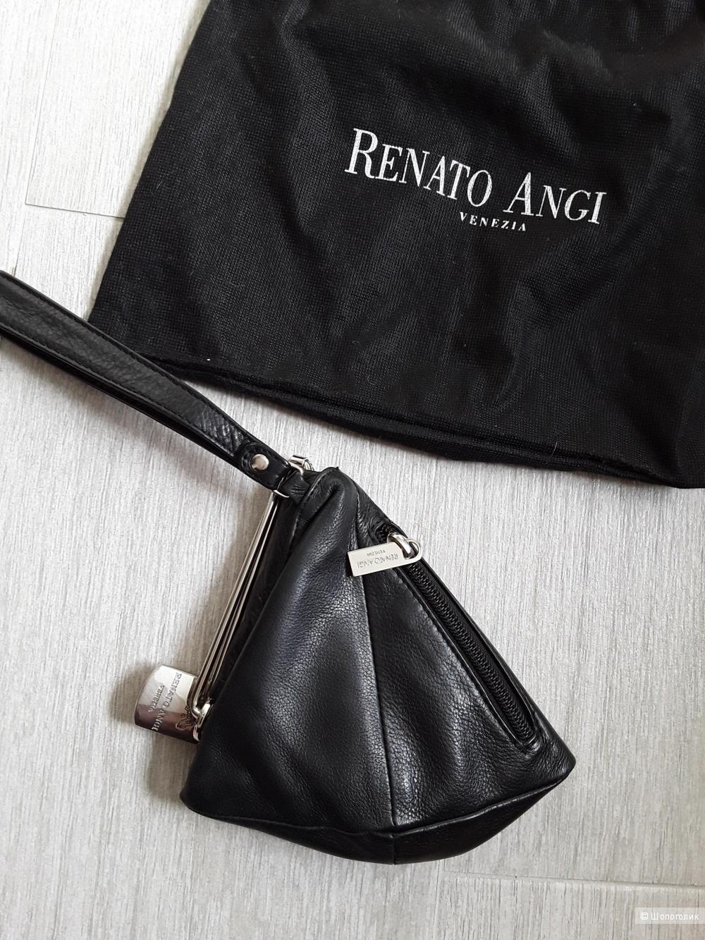 Сет из двух сумок. Маленькая Renato Angi.  Большая no name.