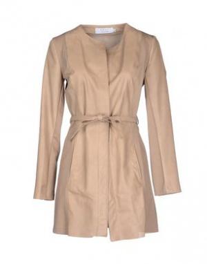 Кожаная куртка-плащ KAOS, размер 46 IT. На 46-48 рос.