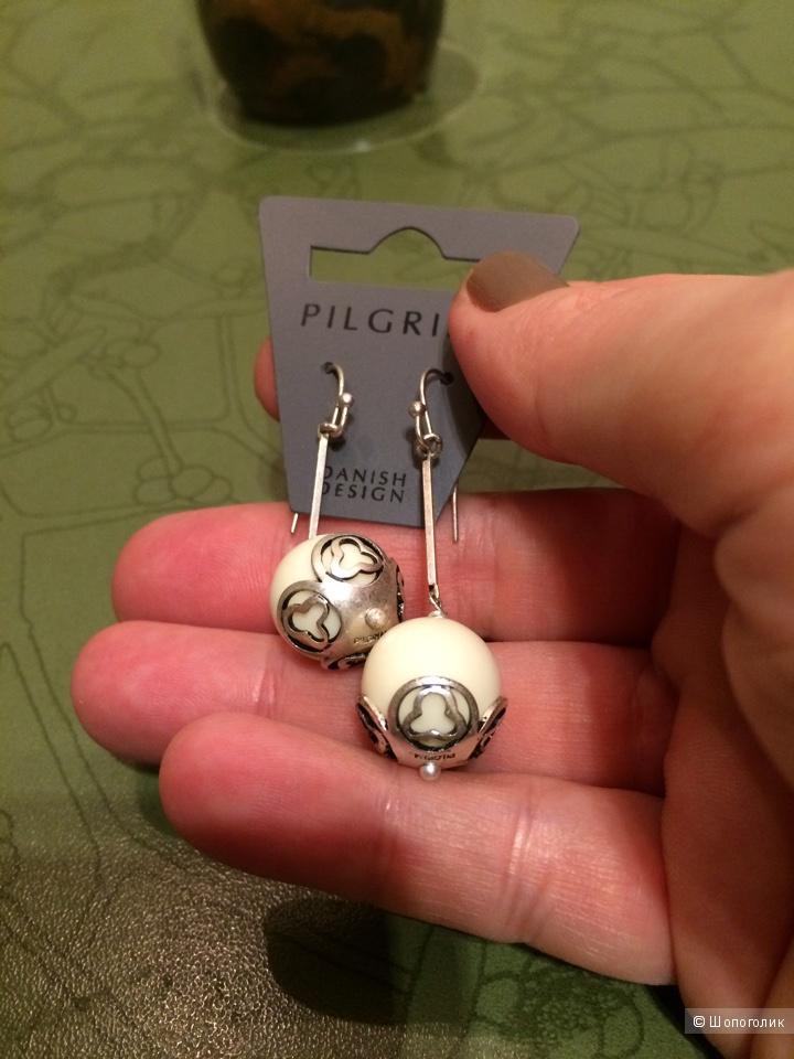 Серьги от Pilgrim