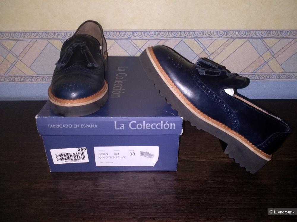 Лоферы La Coleccion 38 размер.