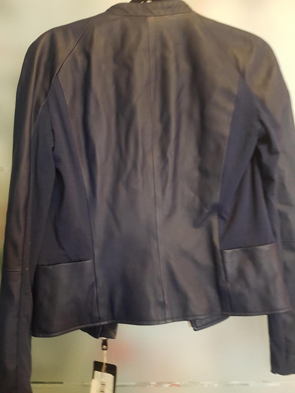 Кожаная куртка Emporio Armani 42 it