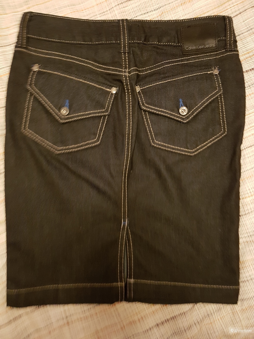 Джинсовая юбка CALVIN KLEIN, размер XS