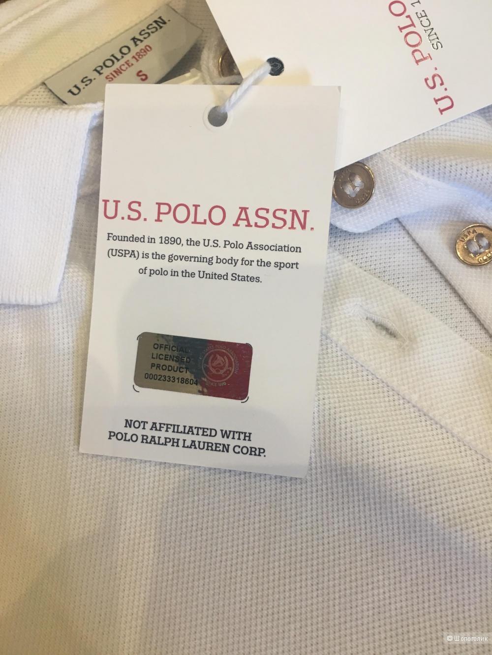 Платье-поло U.S.Polo assn.,размер 46