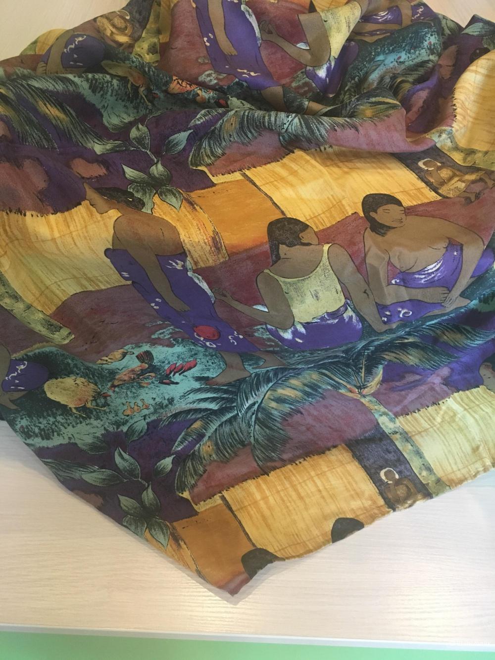 Шелковый платок Mapes Monde,100*100см.