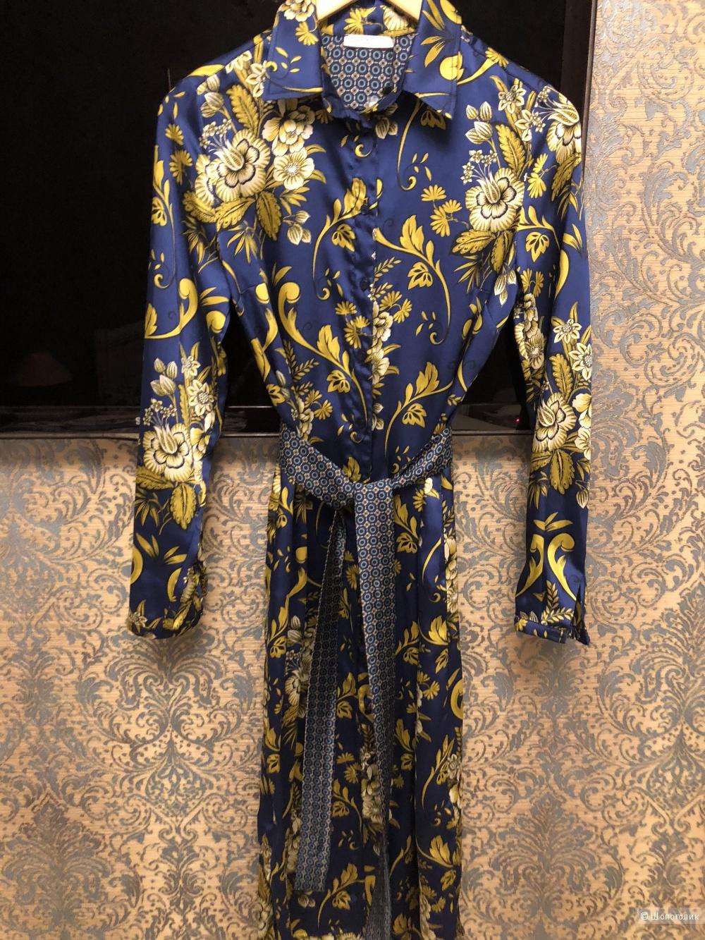 Платье-рубашка Motivi. Размер 42.