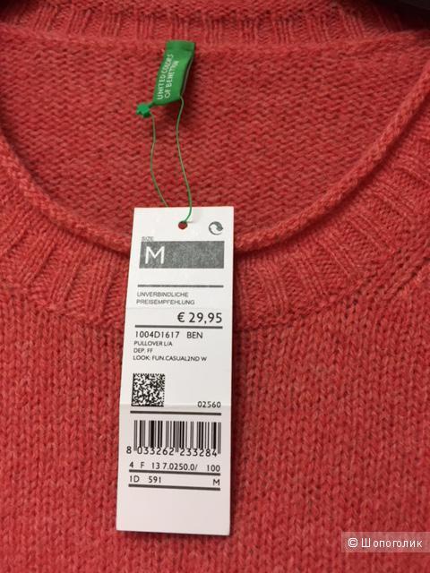 Шерстяной джемпер, United Colors of Benetton,  размер М