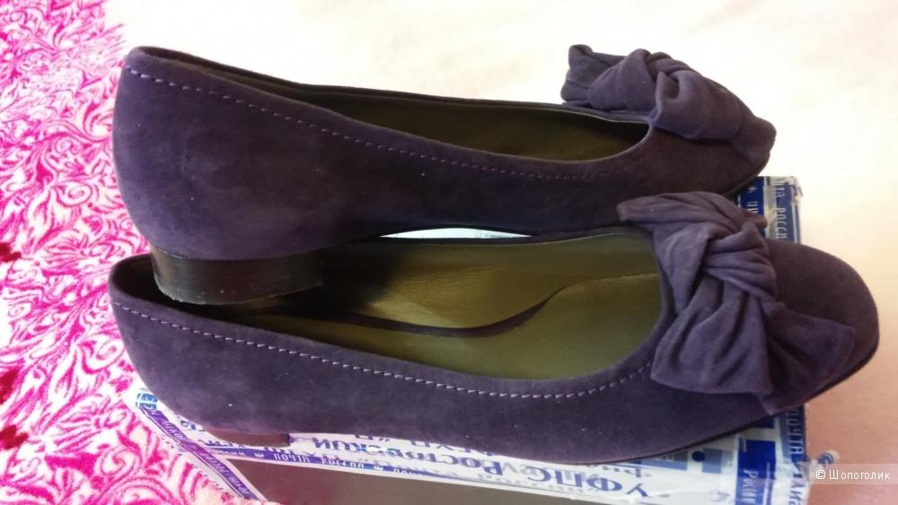 Замшевые туфли Enzo Poli, размер 40