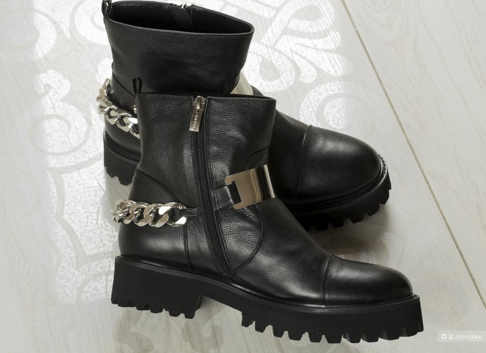 Ботинки/полусапоги Santini, размер 40.