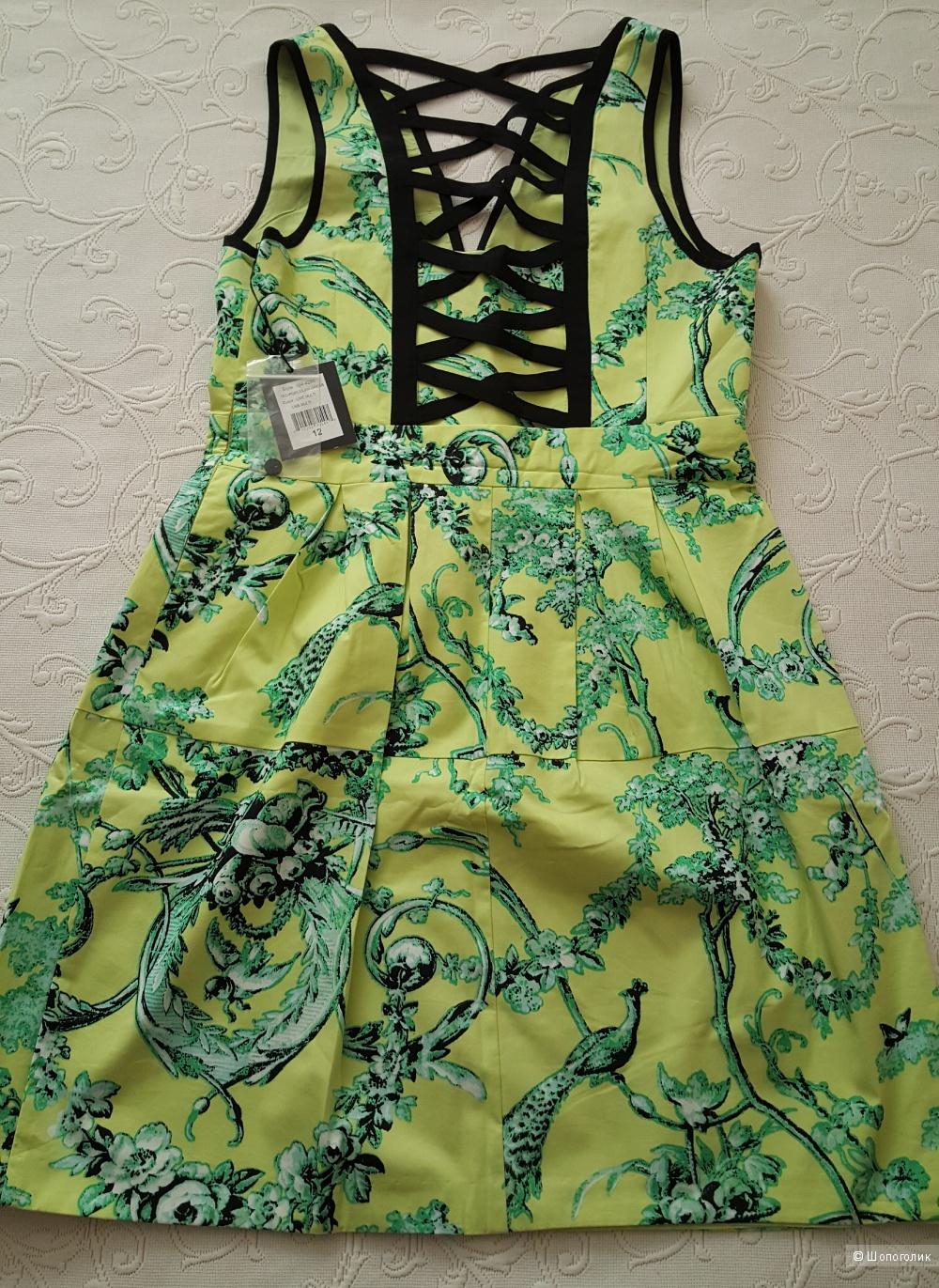 Платье Nannette Lepore р.10(12) US (на 46 рос.)