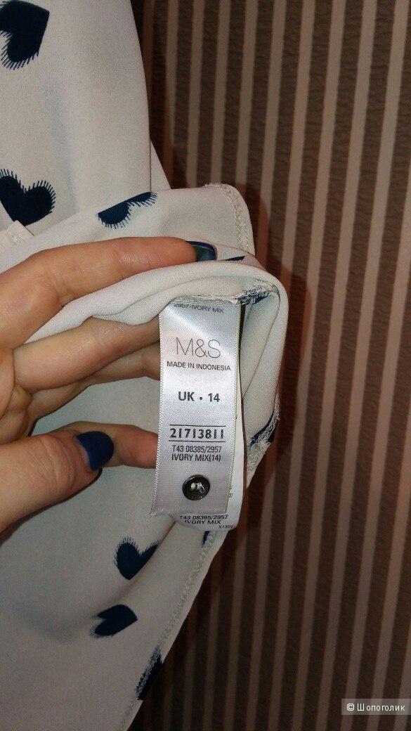 Блузка Marks&Spenser р.46