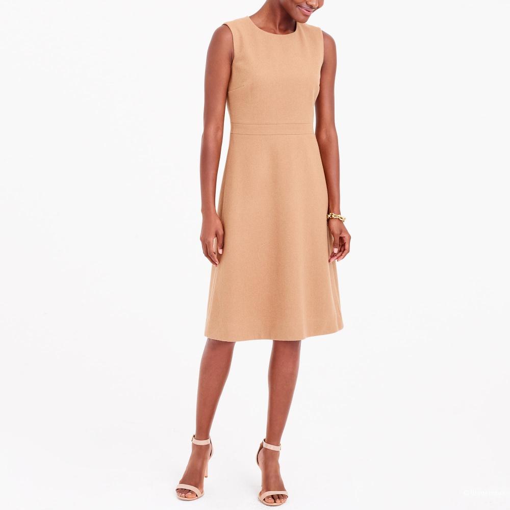 Шерстяное платье-сарафан J Crew размер 4US