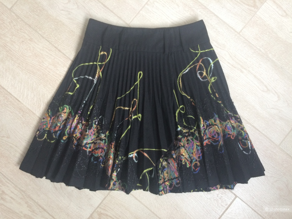 Плиссированная юбка Forzaviva. Размер S-М.