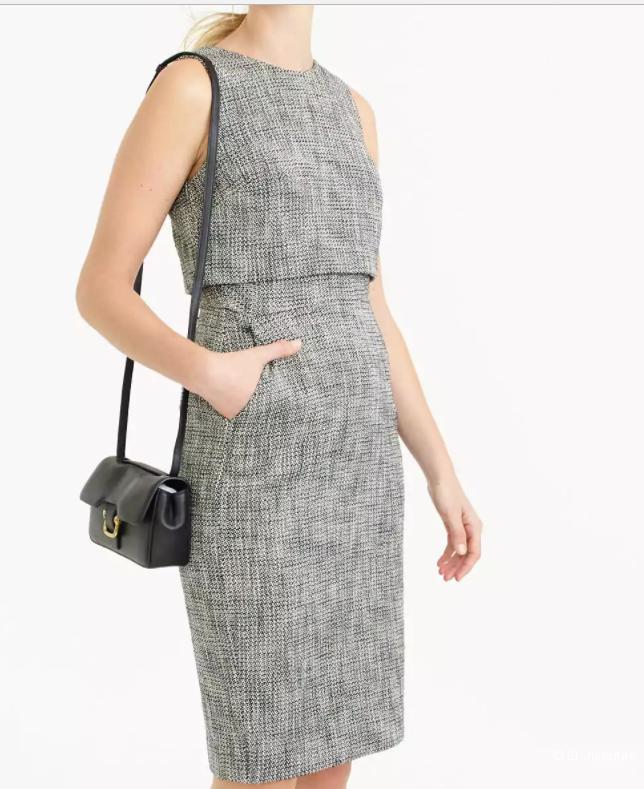 Платье твидовое  J.Crew, 6 размер