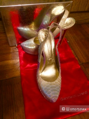 Туфли Gianmarco Lorenzi couture, 40 размер