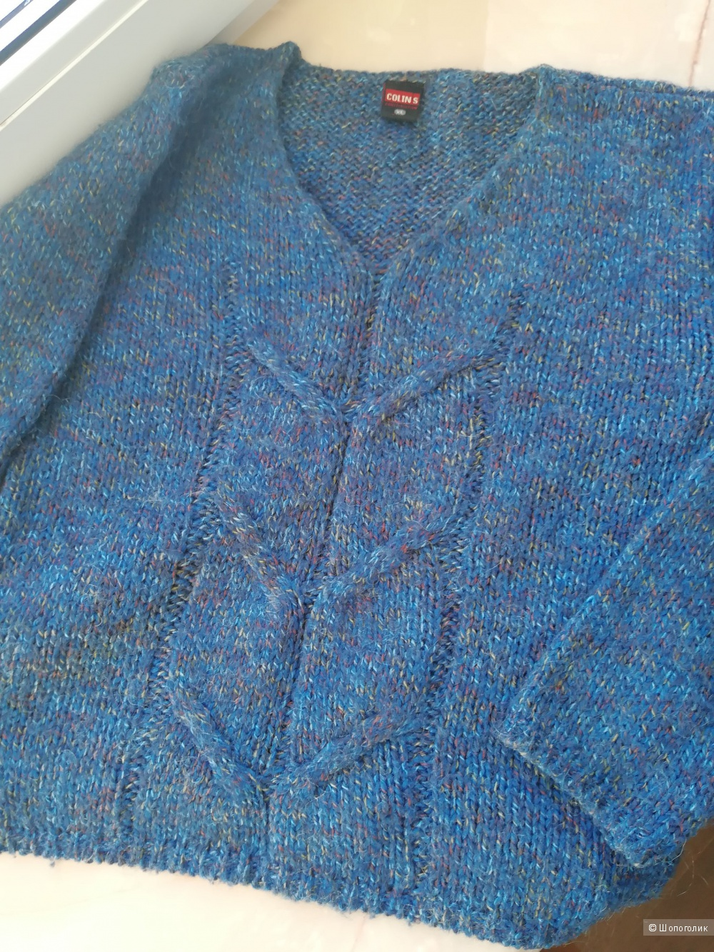 Colin's шерстяной свитер - джемпер  размер 46-48