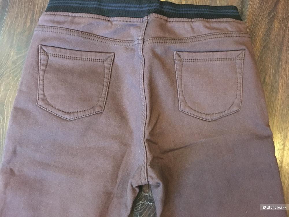 Утепленные джинсы, размер 29, на рос. 48