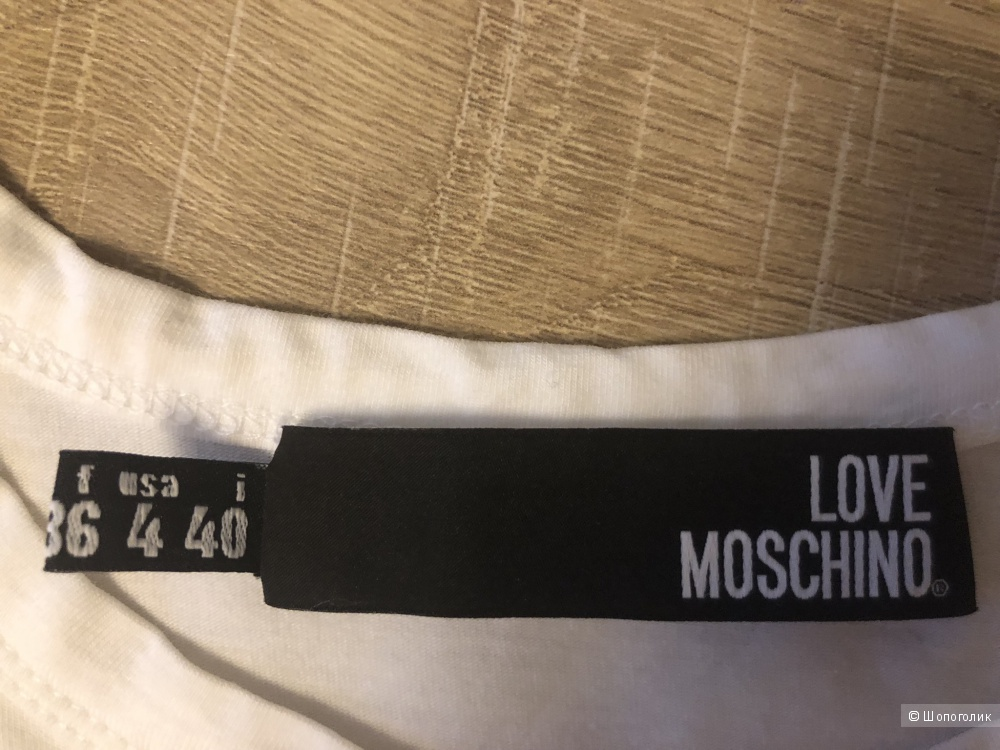 Футболка Love Moschino. Размер S.