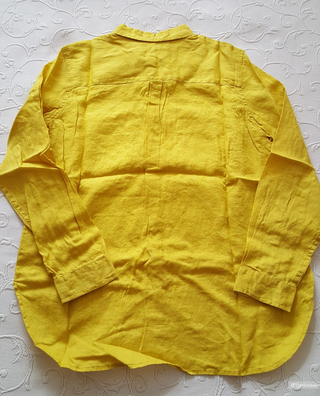 Рубашка льняная Boden р. 12 UK (на 46 рос.)