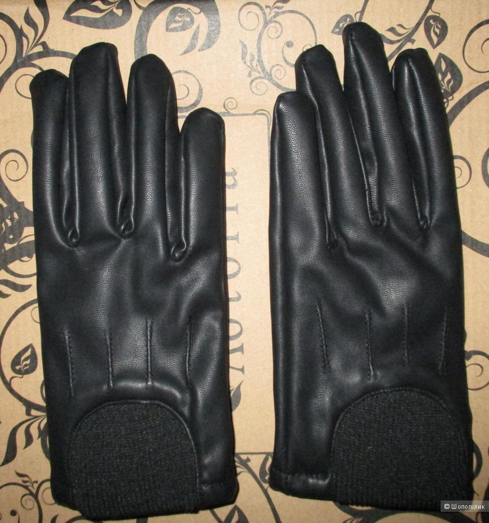 Перчатки кожаные Zolla 7-8 размер