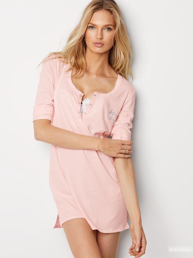 Платье – рубашка для дома и сна, Victoria's Secret, размер S