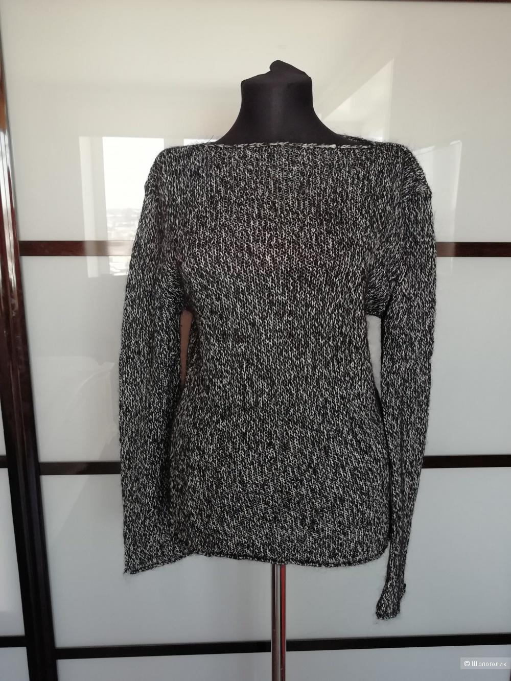Шерстяной джемпер - свитер no name размер 46-48