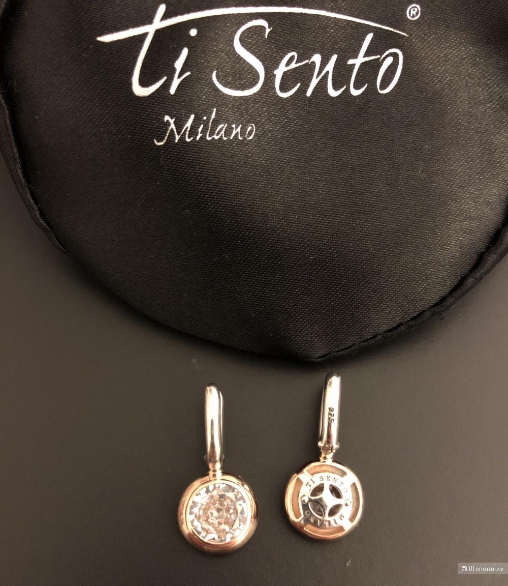 Комплект из серёжек и колье Ti Sento Milano