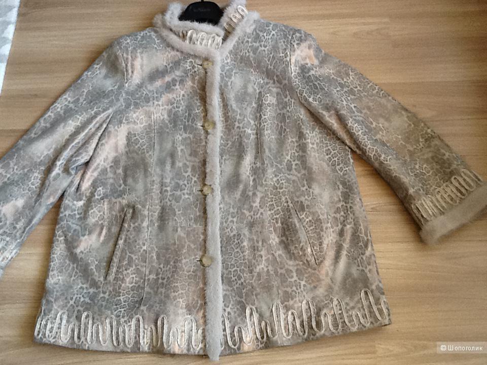 Куртка из кожи 52-56 размер