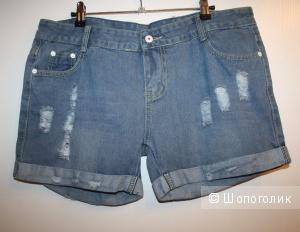 Джинсовые шорты 48 размер L XL