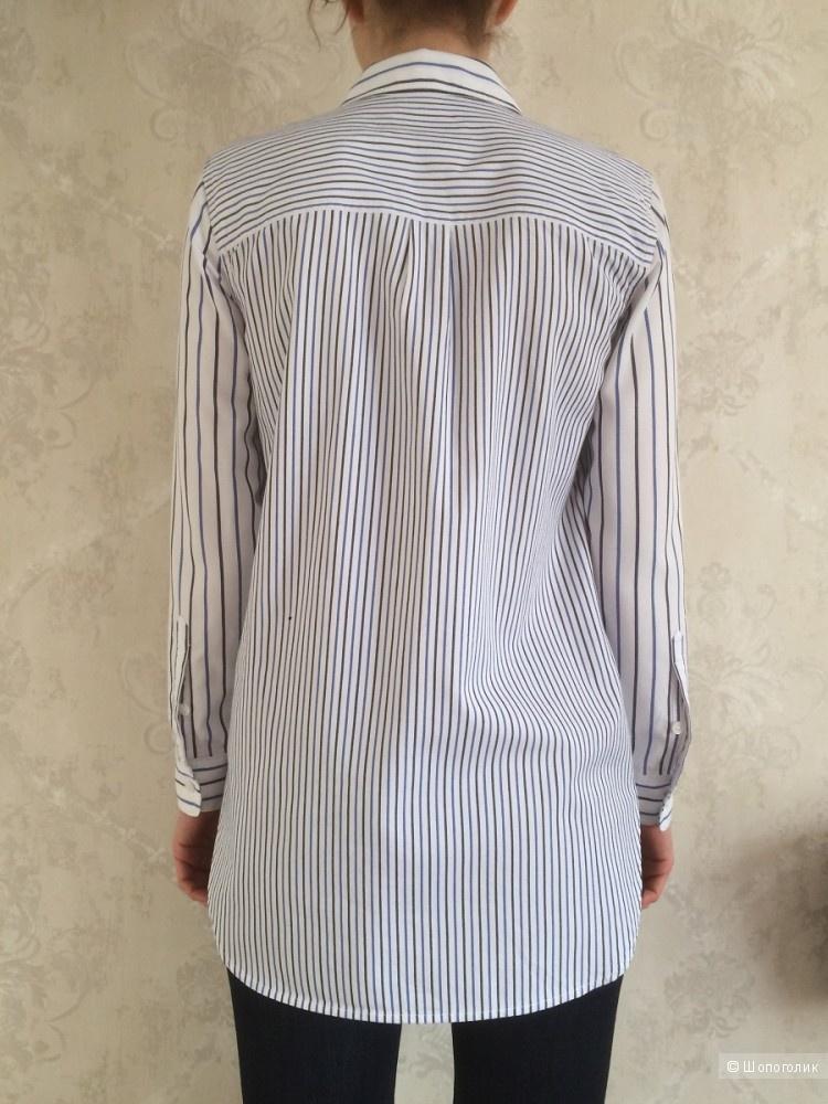 Рубашка бойфренд-оверсайз Madewell размер XS