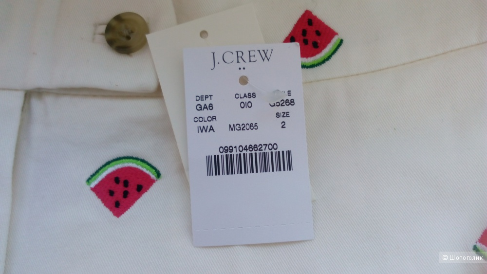 Шорты j.crew размер 2