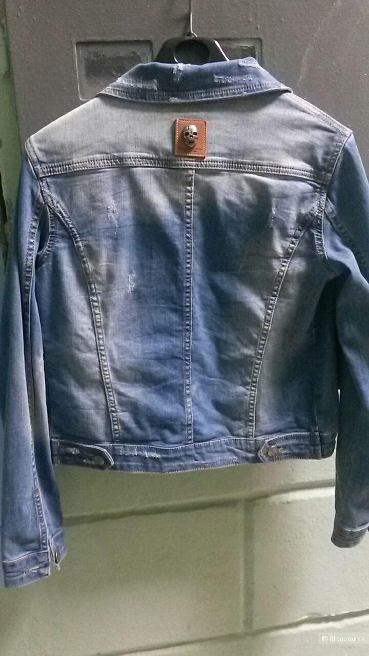 Джинсовая куртка Philipp Plein, 44-46