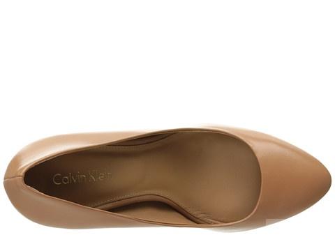 Кожаные туфли Celvin Klein,р 39 .