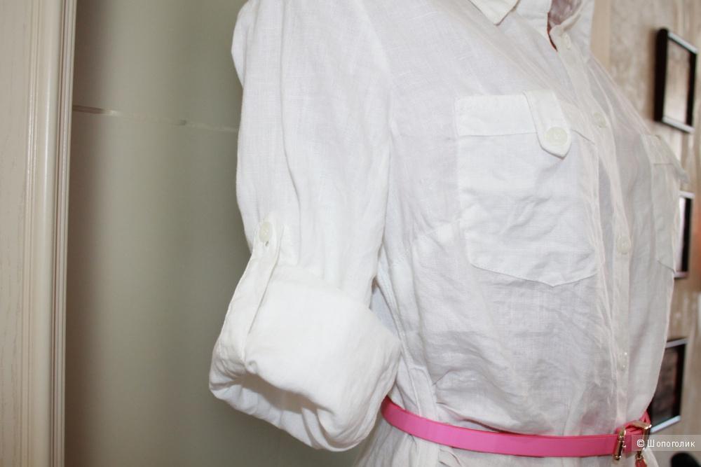 Платье-рубашка из льна  бренда Betty Barclay, размер 38