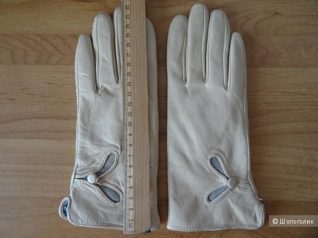 """Сет: палантин и перчатки """"Munasha"""", размер 6,5"""