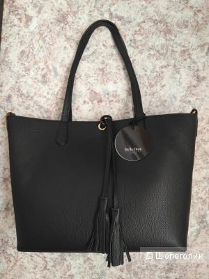 Кожаная сумка Stella Dutti, средний размер