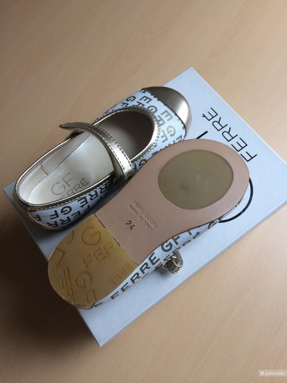 Туфли детские GF Ferre 24 размер