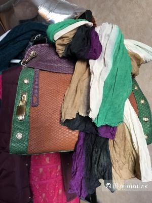 Сет из сумки и шарфа без бренда