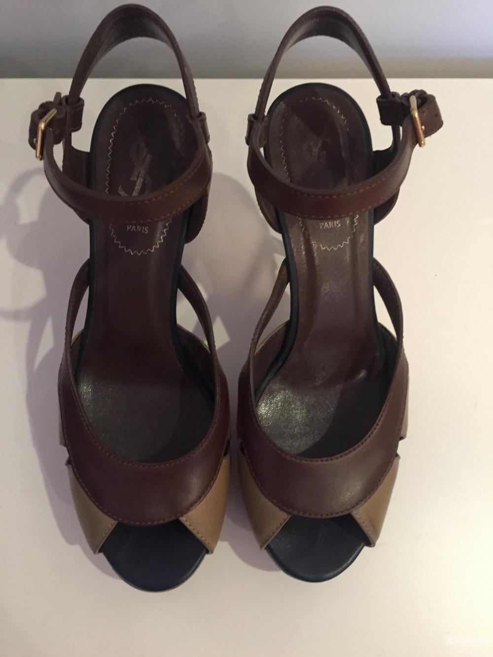 Босоножки Yves Saint Laurent , раз. 37,5, в магазине Другой магазин ... d1cd5711cd8