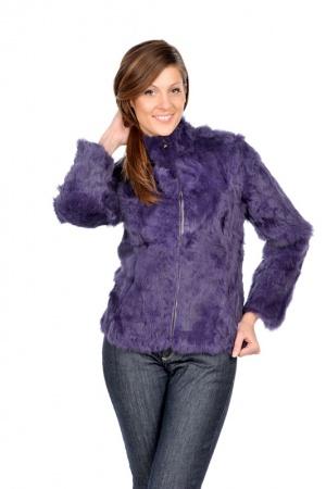 Меховая куртка Arturo из натурального кролика размер 44