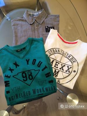 Комплект (рубашка,джемпер, футболка) Mexx для мальчика 134-146 см