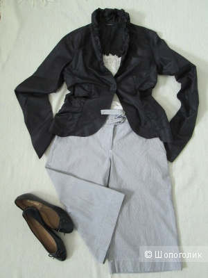 Блузка и кюлоты Caractere  и H & M р.36.
