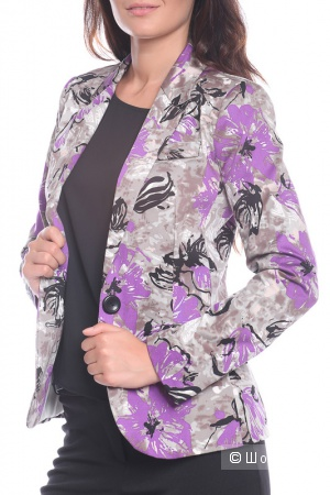 Костюм: жакет с юбкой Moda di Chiara 50-52 размер