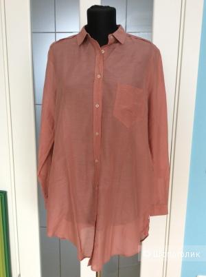 Длинная рубашка Hugo Boss р.42DE (на 48)