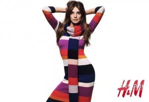 H&M: трикотажное платье, 46-48