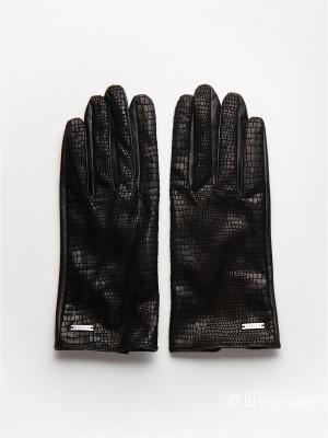 Перчатки, Mohito размер М, чёрные.