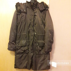 Утепленное пальто плащ Balmain 48 размера