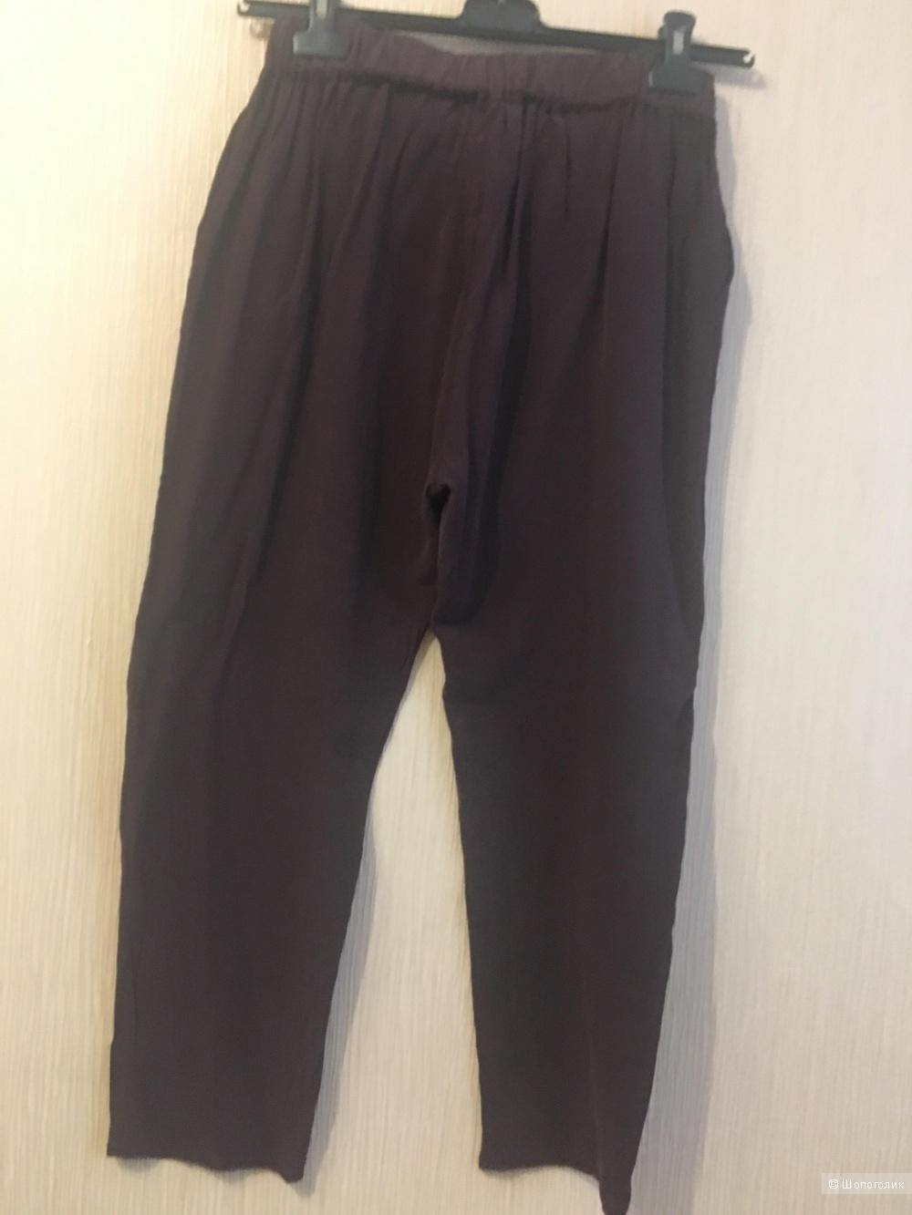 Шелковые брюки,44-46раз.