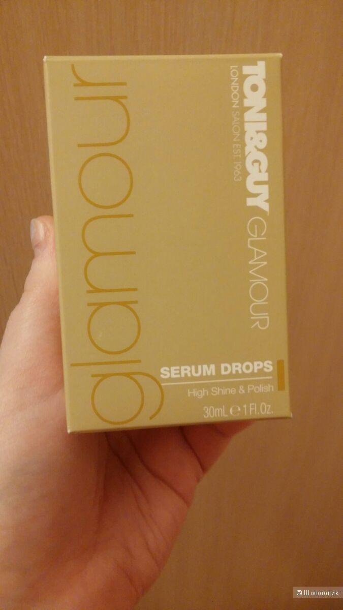 Сыворотка для волос Toni & Guy Glamour Serum Drops