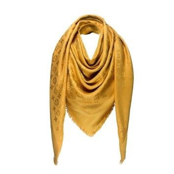 Шаль Louis Vuitton Gold hameleon, 140/140